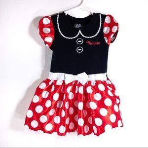 Disney Minnie Mouse polka dot dress